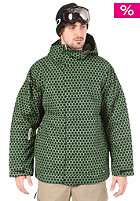 BURTON Launch Insulated Jacket astroturf dot matrix