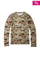 BURTON Lightwight Crew Shirt birch camo