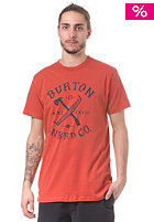 BURTON Logger S/S T-Shirt rust bucket
