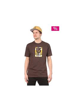BURTON Logo Fill S/S T-Shirt mocha