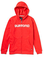 BURTON Logo Horizontal Hooded Sweat CARDINAL
