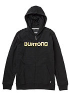 BURTON Logo Horizontal Hooded Sweat TRUE BLACK
