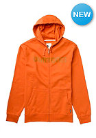 BURTON Logo Horizontal Hooded Zip Sweat rust bucket