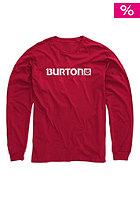BURTON Logo Horizontal Longsleeve chili pepper heather