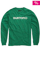 BURTON Logo Horizontal Longsleeve heather ultramarine
