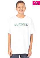 BURTON Logo Horizontal S/S T-Shirt 2012 bright white