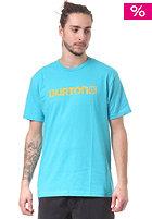 BURTON Logo Horizontal S/S T-Shirt gulfstream