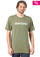 BURTON Logo Horizontal S/S T-Shirt HEATHER OLIVE