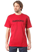 BURTON Logo Horizontal S/S T-Shirt RED