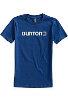 BURTON Logo Horizontal S/S T-Shirt ROYAL