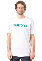 BURTON Logo Horizontal S/S T-Shirt STOUT WHITE