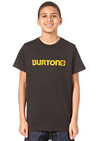 BURTON Logo Horizontal S/S T-Shirt TRUE BLACK