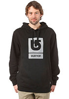 BURTON Logo Vertical Hooded Sweat TRUE BLACK