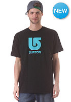 BURTON Logo Vertical S/S T-Shirt true black