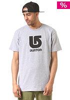 BURTON Logo Vertikal gray heather
