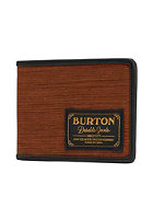 BURTON Long Haul Wallet wood grain