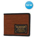 BURTON Long Haul Wallet wood grain