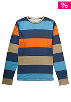 BURTON LTWT Crew Longsleeve team blue pop stripe