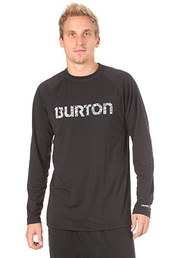 BURTON Midweight Crew Shirt 2012 true black