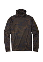 BURTON Midwight Long Neck Shirt lowland camo