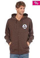 BURTON Mountain 86 FZ Hooded Zip Sweat heather grizzly