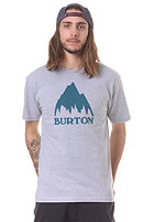 BURTON MTN Logo S/S T-Shirt heather grey