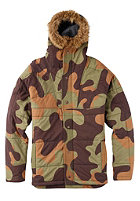 BURTON Plato Snow Jacket mountain camo