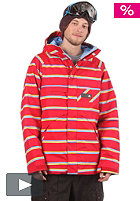 BURTON Poacher Jacket 2012 cardinal marcos stripe