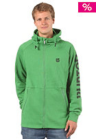 BURTON Prem Burrtech Hooded Zip Sweat astro turf