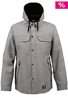 RA Land Line Jacket true black chambray