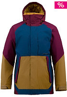 BURTON RA Pole Cat Jacket sangria colorblock
