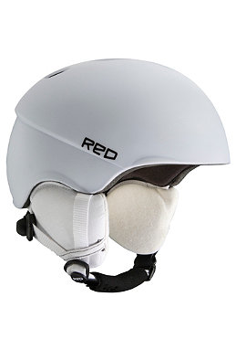 BURTON / RED Hi-Fi Helmet 2012 white