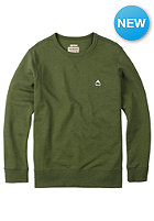 BURTON Roe Crew Sweat rifle green heather