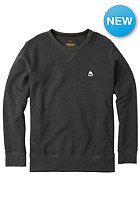 BURTON Roe Crew Sweat true black heather