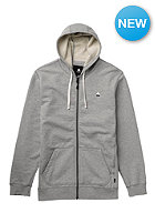 BURTON ROE Hooded Sweat heather pewter