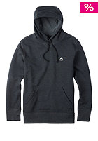 BURTON Roe Hooded Sweat true black heather