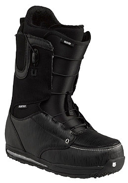 BURTON Ruler Boots black/white