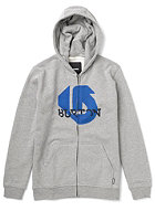 BURTON Slanted Hooded Sweat HEATHER GREY
