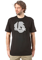 BURTON Slanted S/S T-Shirt TRUE BLACK