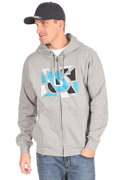 BURTON Sliced Hooded Zip Sweat heather grey