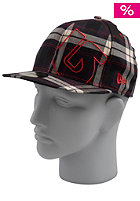 BURTON Slider New Era Cap ballpoint plaid