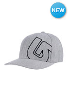 BURTON Solid Style Flexfit Cap gray heather