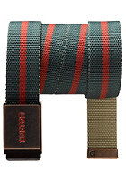 BURTON Striper Webbing Belt pine crest