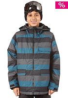 BURTON The White Collection Prizfighter Jacket meltwater stripe