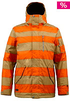 BURTON TWC Tracker Jacket burner rugby stripe