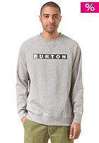 BURTON Vault Crew gray heather