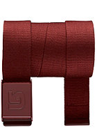 BURTON Vista Belt oxblood