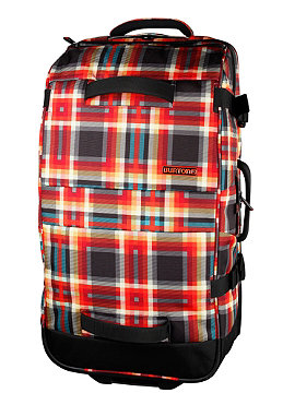 BURTON Wheelie Double Deck Travel Bag 2013 majestic black plaid