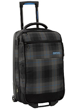 BURTON Wheelie Flat Deck Travel Bag fixer plaid