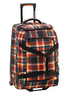 BURTON Wheelie Travel Bag 2013 majestic black plaid